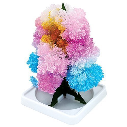 Tobar Magic Growing Tree Grow Your Own Crystal Tree Fun Xmas Gift by Lizzy (Pack of 1)