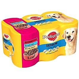 Pedigree Senior Loaf 6 x 400 g (Pack of 4)