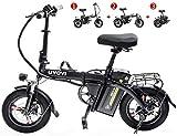 Bicicletas Eléctricas, Bicicletas for adultos plegable eléctricos Comfort bicicletas híbridas bicicletas reclinadas / Calle urbana plegable del viajero e-bike, ligero de bicicletas eléctricas, bicicle