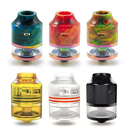 Oumier Wasp Nano 2ml RDTA Verdampfer Farbe Transparent-Gold