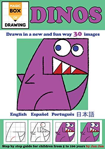 Magic Box of Drawing: Dinosaurs (Magic Box of Drawing Dinos Book 4) (English Edition)