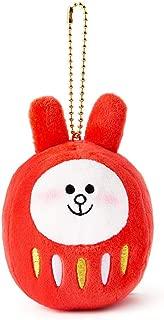 Line Friends Cony Mini Daruma Plush Doll 3