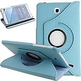 Funda para Galaxy Tab 4 7.0, con tapa para tablet Galaxy Tab 4 de 7 pulgadas, piel sintética,...