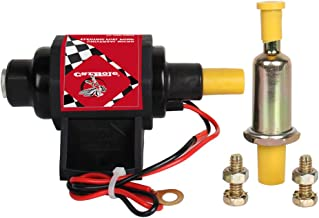 CarBole Universal Electric Fuel Pump 5/16 inch Inlet and Outlet 2-3.5 PSI 28 GPH Gasoline Only