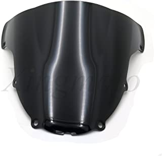 Artudatech Parabrezza per moto con doppia bolla anteriore per K-A-W-A-S-A-K-I ZX6R 2009-2014 ZX10R 2008-2010