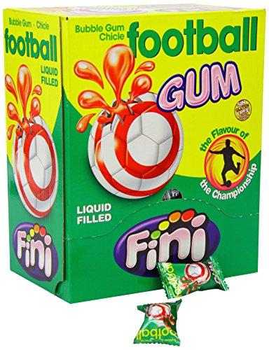Unbekannt Fini - Football Gum - Kaugummi in Fußballform - Box mit 200 Stück