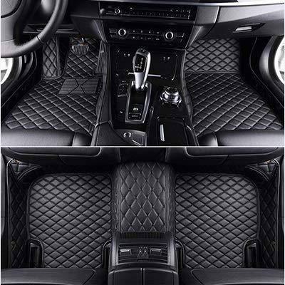 ZYDSD Encargo del Piso del Coche esteras for Jetta For Volkswagen Touareg Tiguan Touran For VW Polo sedán Passat B6 B8-Mail Todos los Modelos alfombras de Coche para Autos SUV camión y camioneta
