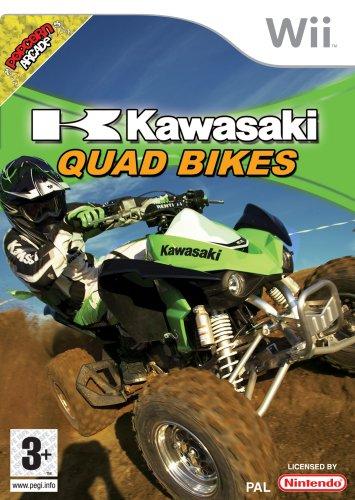 BUNDLE of RARE / COLLECTABLE Nintendo Wii GAMES Mario Kart Kawasaki Quad Bikes