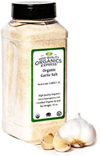 Sponsored Ad - HQOExpress | Organic Garlic Salt | 35 oz. Chef Jar