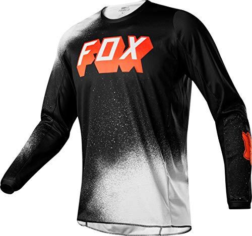 FOX 180 BNKZ Motocross Jersey Schwarz M