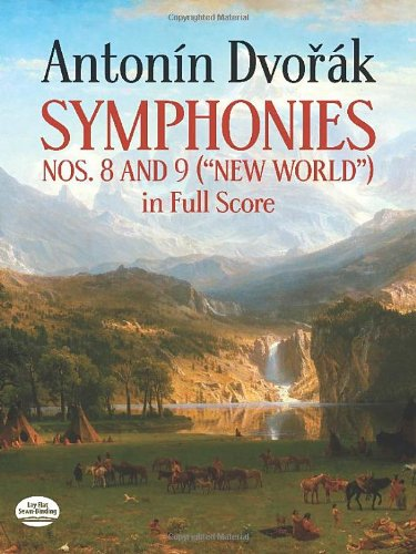 SYMPHONIES NOS 8 & 9 (NEW WORL (New World in Full Score)