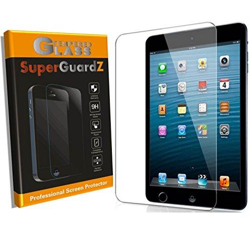 [2-Pack] for iPad Mini 5 (2019) / Mini 4 Screen Protector Tempered Glass [Anti-Glare Matte], SuperGuardZ, Anti-Fingerprint, Anti-Bubble [Lifetime Replacement]