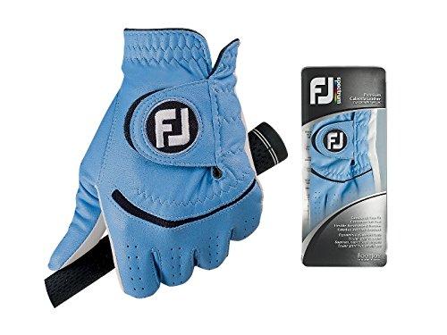 Footjoy FJ Spectrum - Guantes para Hombre, Color Azul, Talla S