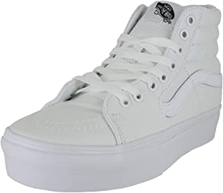 Mens SK8 HI Platform 2.0 True White Size 7.5