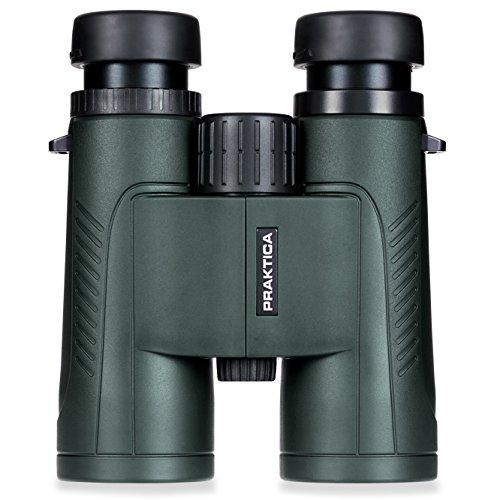 Praktica 10 x 42 mm Waterproof Odyssey Binoculars - Green