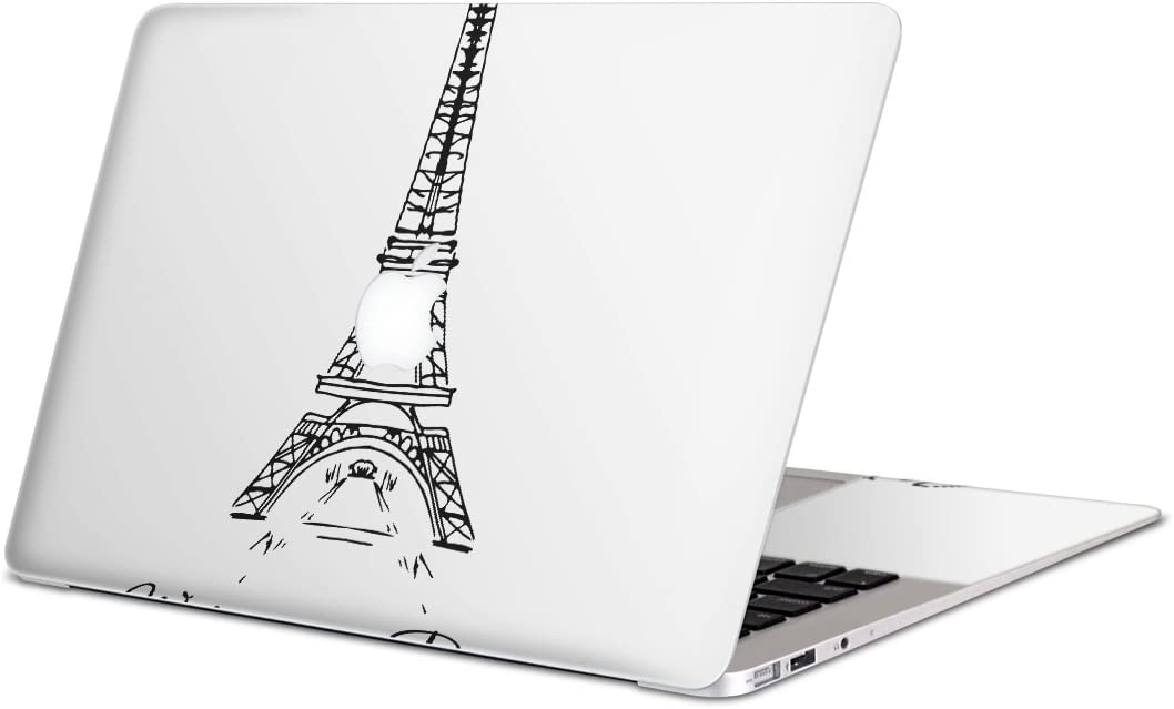 igsticker Skin Decals for MacBook Pro 15 inch 2019/18/17/16(Model A1990/A1707) Ultra Thin Premium Protective Body Stickers Skins Universal Cover Paris Foreign Countries Tower