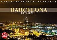 Barcelona Impressionen (Tischkalender 2022 DIN A5 quer): Kommen Sie mit auf eine Reise in die katalanische Metropole Barcelona (Geburtstagskalender, 14 Seiten )