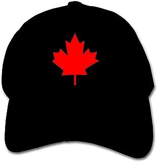 YOSULAZA Kid¡¯s Plain Hat Canada-Maple-Leaf-lgprint Kid Baseball Cap Adjustable Trucker Hat for Boys&Girls
