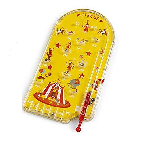 Scratch Circus Tin Pinball Juego (Amarillo)