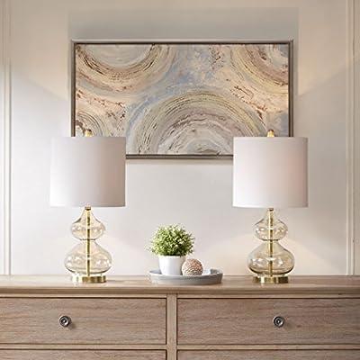 510 Design Ellipse Table Lamp Set of 2 Gold See Below