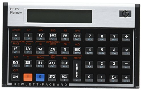 HP(ヒューレット・パッカード)『HP12cPlatinumFinancialCalculator(#F2231AA)』