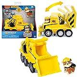 PAW PATROL Ultimate Rescue | Selección de Vehículos con Figura del Juego | Patrulla Canina, Figura:Rubble Bagger