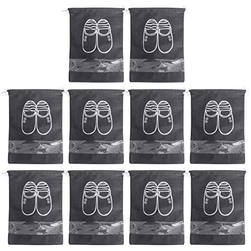 Holibanna 10Pcs Tragbare Schuh Taschen...