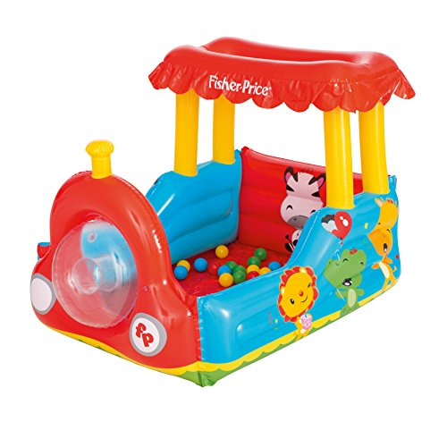 Piscina de Bolas Hinchable Bestway Fisher Price Tren