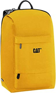 CAT School Backpack for Unisex, Polyester, Yellow - 83425 42