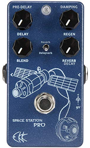 CKK Space station Pro Reverb / Delay-Verb Guitar Pedal