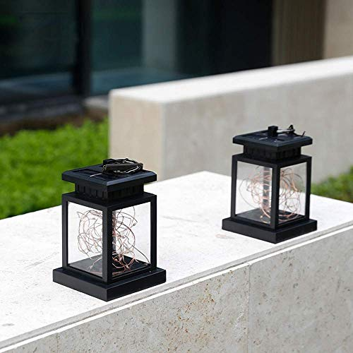 YBAXIXIL Solar Outdoor LED Dekoratives Licht Wasserdicht Outdoor Hof Villa Garten Licht Blume Balkon Landschaft Kerzenlicht