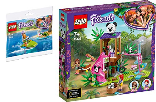 Steinchenwelt Friends 2er Set: 30410 Mias Schildkröten-Rettung + 41422 Panda-Rettungsstation