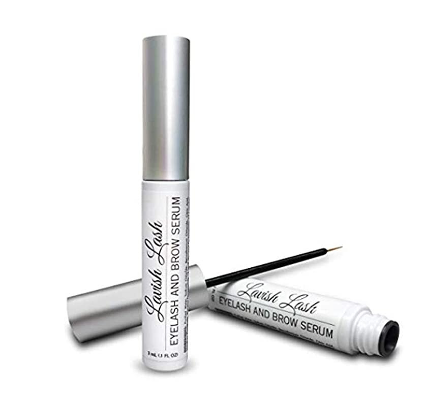 アレンジ名詞実験[Hairgenics Lavish Lash – Eyelash Growth Enhancer & Brow Serum for Long, Luscious Lashes and Eyebrows.!][並行輸入品]