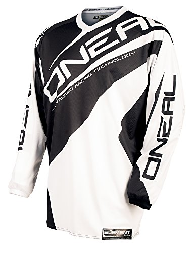 O'NEAL Oneal Element Racewear Jersey, Farbe schwarz, Größe XL