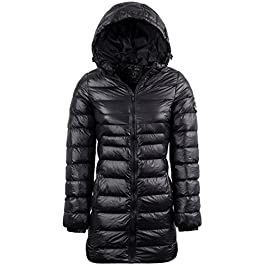 BRAVE SOUL Womens Everett' Long Length Winter Coat