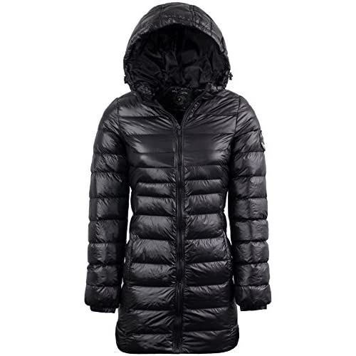 BRAVE SOUL Womens Everett' Long Length Winter Coat