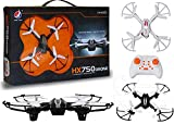 SuNZita Remote Control Toy Drone Without Camera Small Size Toy Drone with Remote RC Toy Drone Quadcopter with 3 Adjustable Speed I Pack of 1 I Black or White