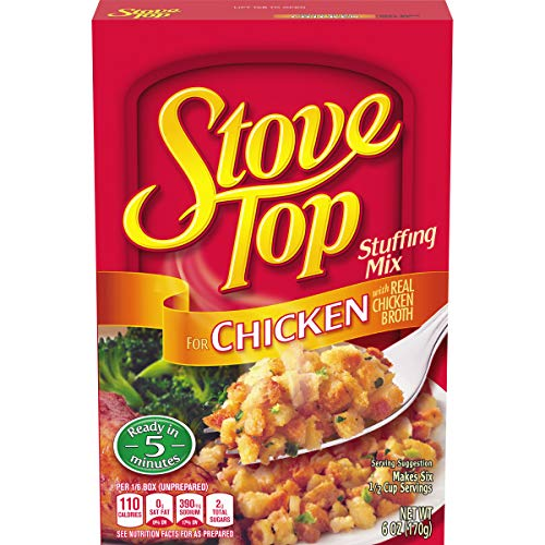 packaged stuffing side dishes Stove Top Chicken Stuffing Mix (6 oz Box)