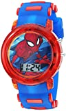 Marvel Boys' Quartz Watch with Plastic Strap, Blue, 20 (Model: SPD4464)