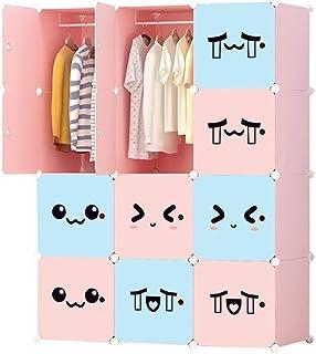Coffee Table FHW Enfants Garde-Robe Mignon Expression Mignon Simple Combinaison Ensemble Garde-Robe Santé Plastique -pouss...