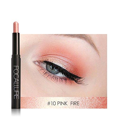 Stylo de fard à paupières, crayon à paupières, crayon de fard à paupières 12 couleurs crayon de fard à paupières durable maquillage outil cosmétique(#10)