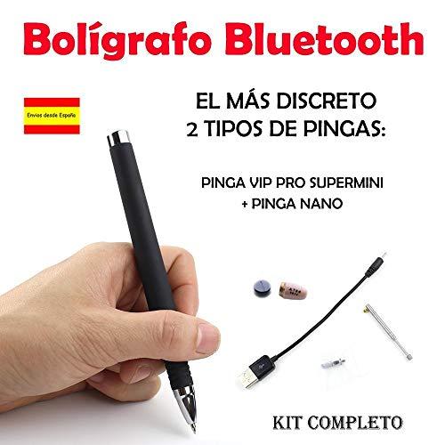 Bolígrafo Bluetooth + Pinga Vip Pro SuperMini KIT COMPLETO