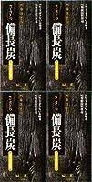 【まとめ買い】ささら備長炭 無香性 バラ詰×4個
