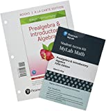Prealgebra & Introductory Algebra, Books a la Carte Edition Plus MyLab Math with Pearson eText -- 24 Month Access Card Package (5th Edition)