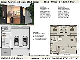 Amazon.com: Affordable Small and Tiny House Plan - Modern ...