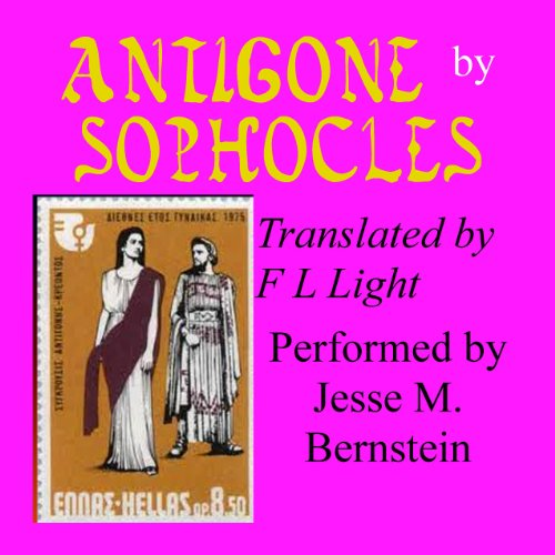 『Antigone: Translated by F. L. Light』のカバーアート