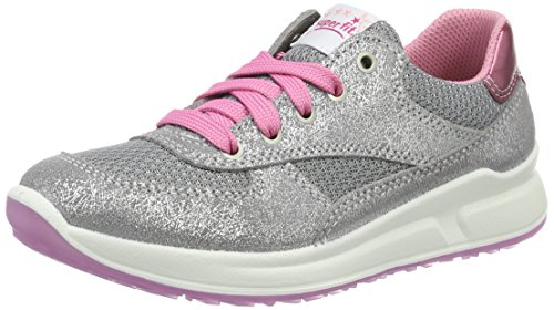 Superfit Merida Mädchen Sneaker, Grau (Griffin 43), 33 EU