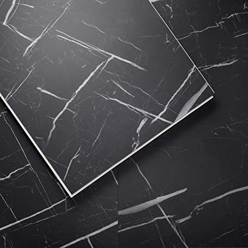 Luxury Vinyl Floor Tiles by Lucida USA | Interlocking Flooring for DIY Installation | 8 Stone-Look Planks | TerraCore | 16 Sq. Feet