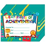 Hohomark 30PCS Certificate of Awards for Kids 8'x10' Kindergarten Preschool Certificate of Achievement and Recognition for Students Teachers Back to School Classroom Supplies
