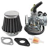 GOOFIT Carburador 19 con Filtro de Aire con Filtro de Combus